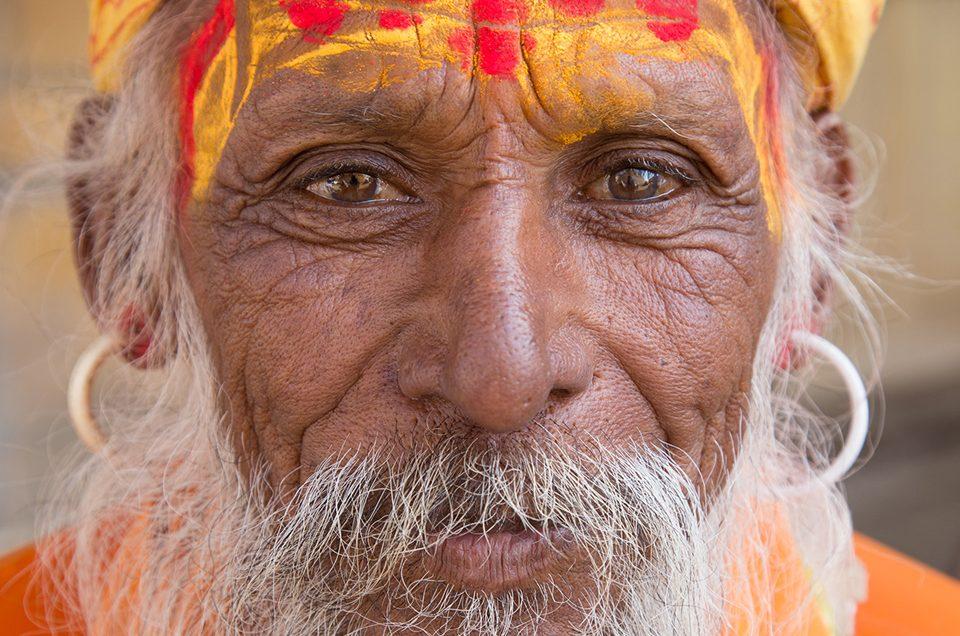 Portrait in Jaisalmer, India